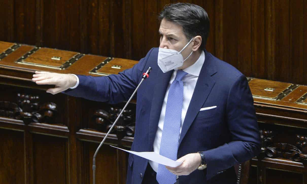 Italian PM battles for coalition's survival over Covid recovery plan TheGuardian