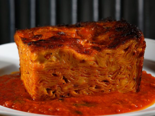 Sort-of Secret: Porzia's Lasagne, a weekly takeout pasta operation working out of a west-end restaurant