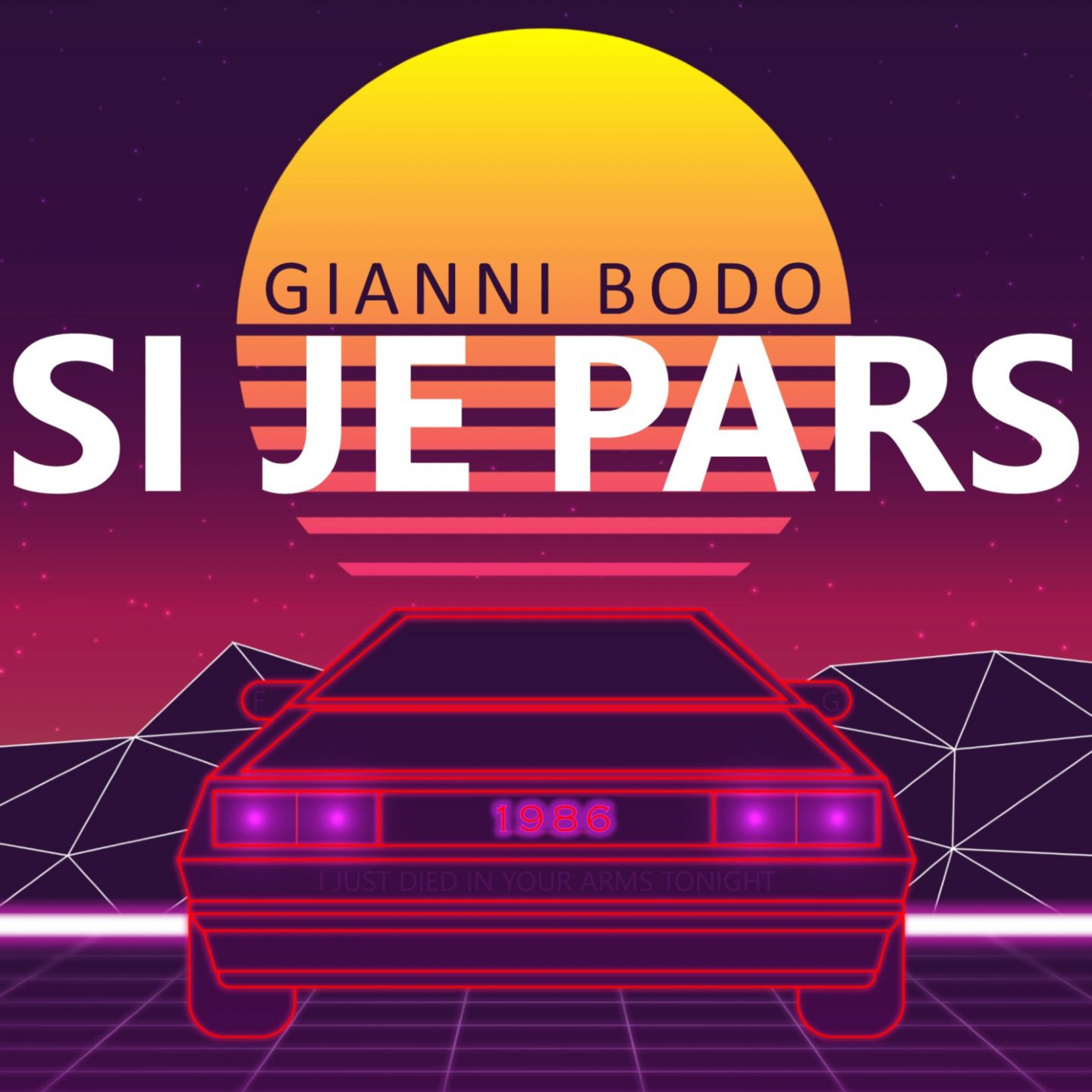 """Gianni Bodo Announces New Song """"Si Je Pars"""""""