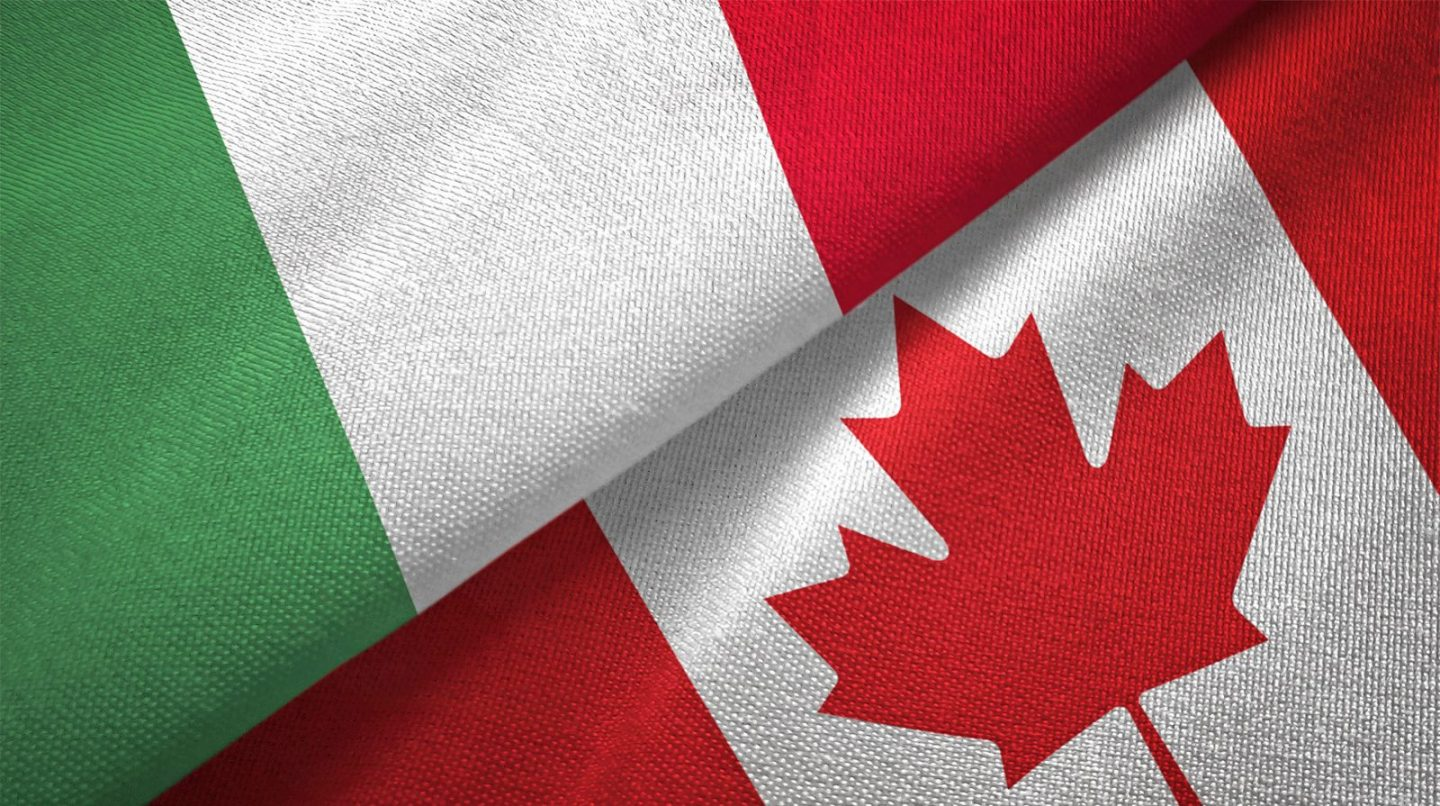 Today we celebrate the beginning of Italian Heritage Month in Canada