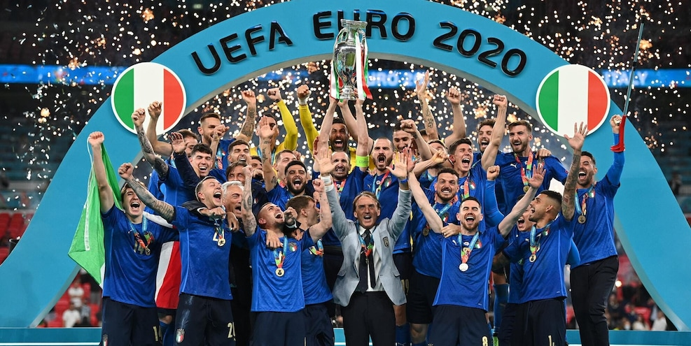 Italy's backbone: dependable, inseparable and, at Euro 2020, unbeatable.
