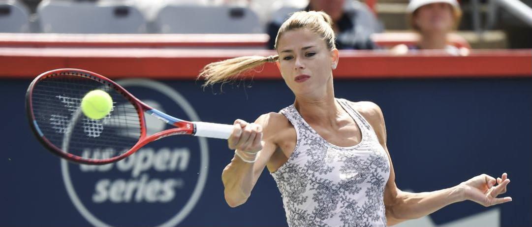 Camila Giorgi upsets Karolina Pliskova to claim National Bank Open tennis title